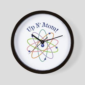 Up N Atom! Wall Clock