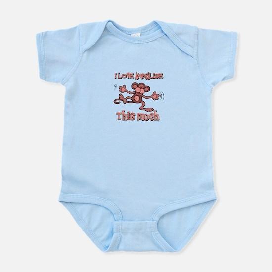I love Annalise Infant Bodysuit