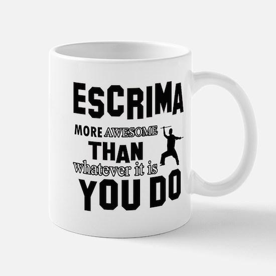 Awesome Escrima designs Mug