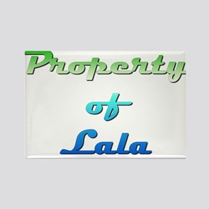 Property Of Lala Female Magnets