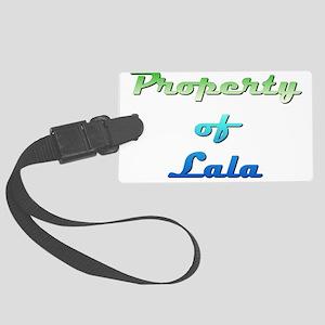 Property Of Lala Female Luggage Tag
