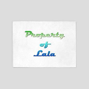 Property Of Lala Female 5'x7'Area Rug