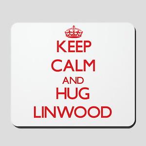 Keep Calm and HUG Linwood Mousepad