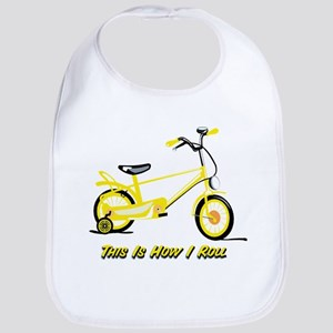 This Is How I Roll Yellow Bib