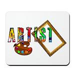 Artist-Frame-pallet Mousepad