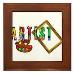 Artist-Frame-pallet Framed Tile