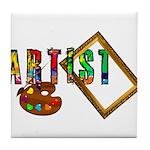 Artist-Frame-pallet Tile Coaster
