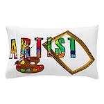 Artist-Frame-pallet Pillow Case