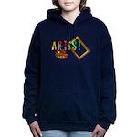 Artist-Frame-pallet Hooded Sweatshirt