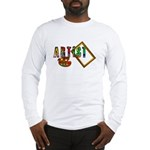 Artist-Frame-pallet Long Sleeve T-Shirt