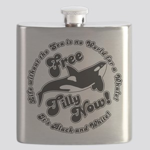 Free Tilly Now Blk Flask