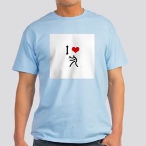 I love Table Tennis Light T-Shirt