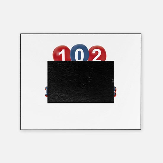 102 and loving it Picture Frame