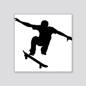 Skateboarder Silhouette Sticker