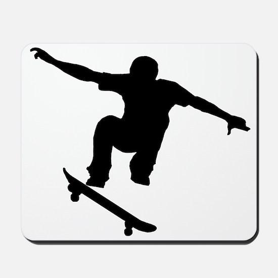 Skateboarder Silhouette Mousepad