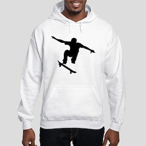 Skateboarder Silhouette Hoodie
