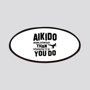 Awesome AIKIDO designs Patches