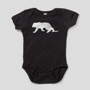 Cougar Silhouette Baby Bodysuit