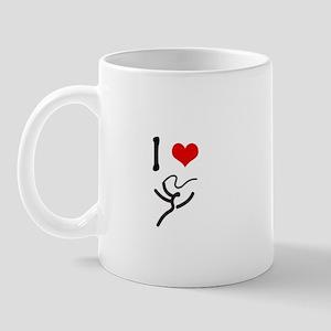 I love Rhythmic Gymnastics! Mug
