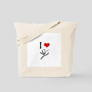 I love Rhythmic Gymnastics! Tote Bag