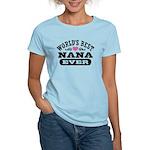 World's Best Nana Ever Women's Light T-Shirt