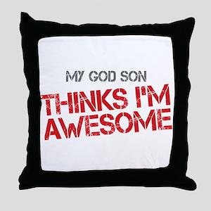 God Son Awesome Throw Pillow