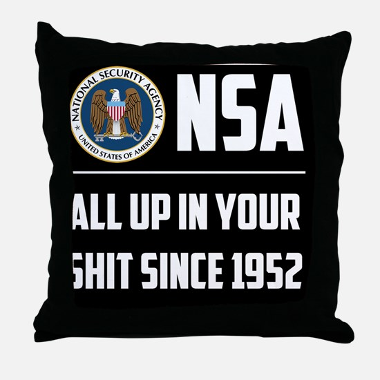 nsa Throw Pillow