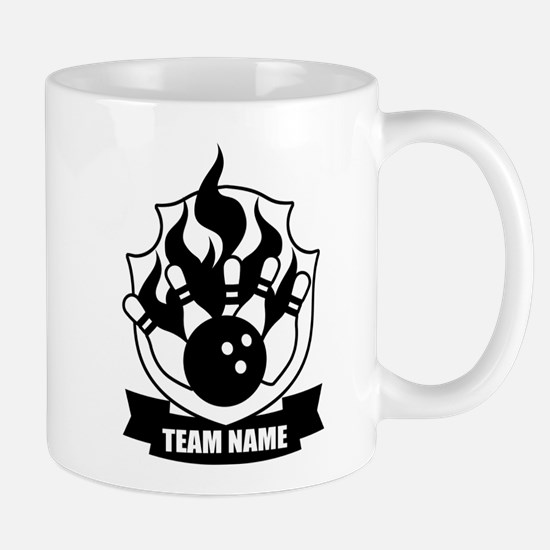 Cute Bowling logo Mug