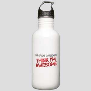 Great Grandkids Awesome Stainless Water Bottle 1.0