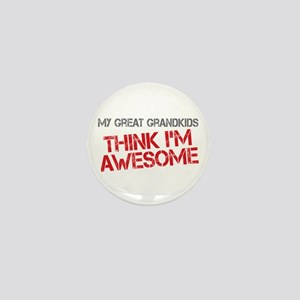 Great Grandkids Awesome Mini Button