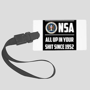 NSA Luggage Tag