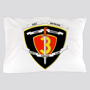 SSI - 1st Battalion - 3rd Marines Pillow Case