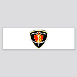 SSI - 1st Battalion - 3rd Marines Sticker (Bumper)