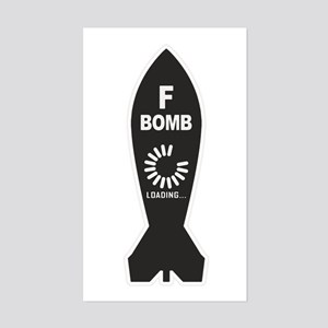 F Bomb Loading Sticker