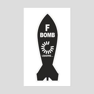 F Bomb Loading Sticker