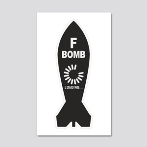 F Bomb Loading Wall Decal
