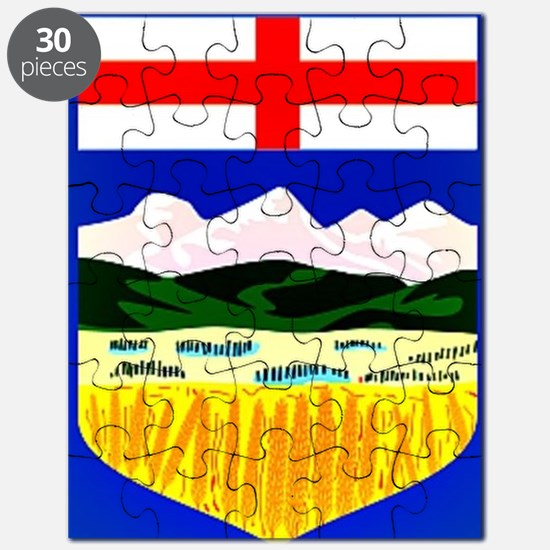 Flag of Alberta Puzzle