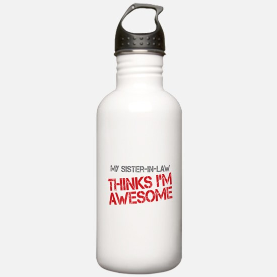 Sister-In-Law Awesome Water Bottle