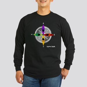 compass_kayak Long Sleeve T-Shirt