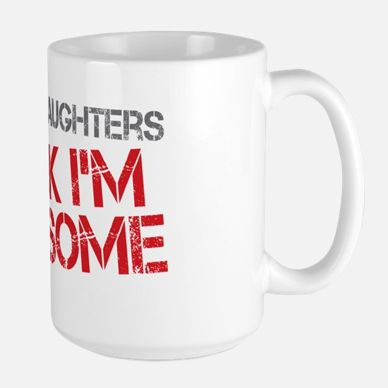 Stepdaughters Awesome Large Mug