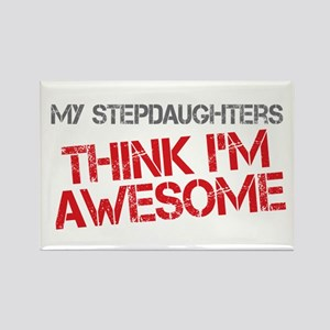 Stepdaughters Awesome Rectangle Magnet