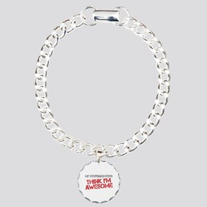 Stepdaughters Awesome Charm Bracelet, One Charm