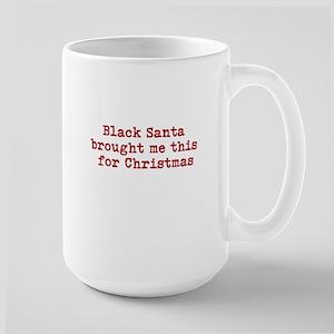 Black Santa Mugs