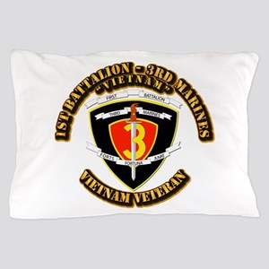 SSI - 2nd Battalion - 3rd Marines USMC VN Pillow C