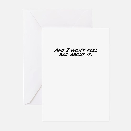 Feel bad Greeting Cards (Pk of 20)