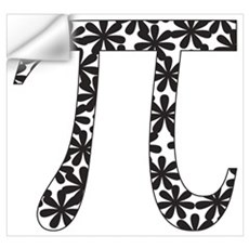 Floral Pi Poster And Wall Art Wall Decal