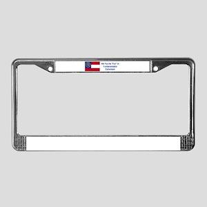 Georgia Humor #1 License Plate Frame