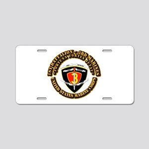 SSI - 1st Battalion - 3rd Marines With Text USMC A