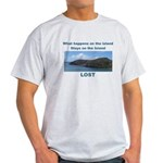 Lost, The Island Light T-Shirt
