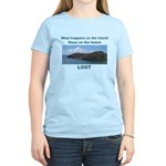 Lost, The Island Women's Light T-Shirt